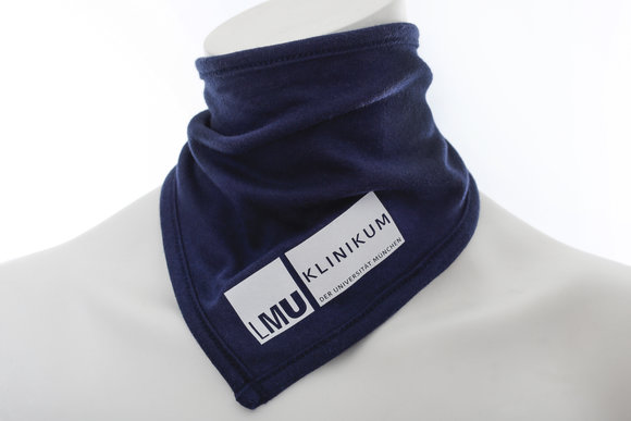 KUM blue baby triangle scarf